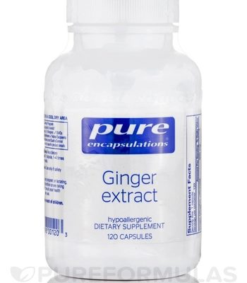 Ginger Extract Dietary Supplement